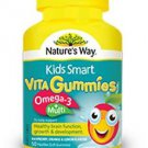 Nature's Way Kids Smart Vita Gummies Omega-3 + Multi 50 50 soft pastilles