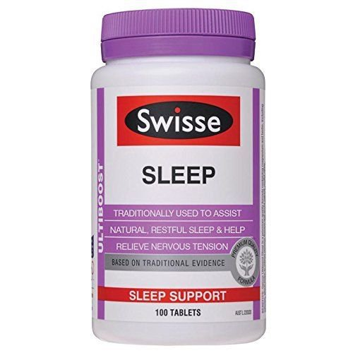 Swisse Ultiboost Sleep 100 Tablets (Australia Import) EXP: 10/2018