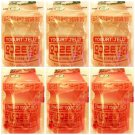 (Pack of 6) Lotte Yogurt x3, Strawberry x 3 Jelly 50g (Korea Import)