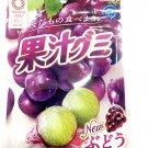 (Pack of 6) Meiji Fruit Gummy Grape 51g Japan Import