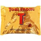 (Pack of 4) Toblerone Tiny Swiss Milk Chocolate With Honey and Almond Nougat