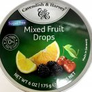Cavendish & Harvey Sugar Free Mixed Fruit Drops, 175g
