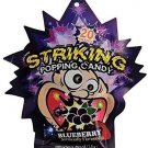 (Pack of 5) Striking popping candy (BLUEBERRY)