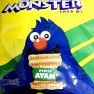 (Pack of 2) Mamee Monster Family Pack Snack Noodles 8 individual pack x 25g - AY
