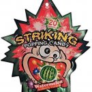 (Pack of 5) Striking popping candy (WATERMELON)
