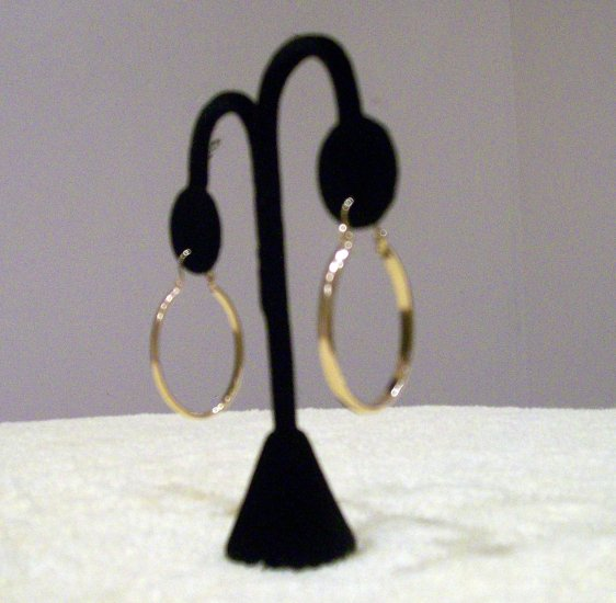 14k Gold GL Earrings