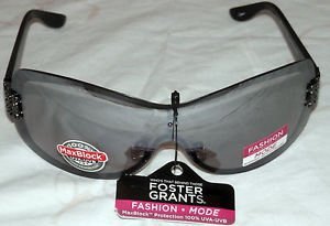 NWT FOSTER GRANT WOMEN'S  SPECTACLE GUN FASHION SUNGLASSES 100% PROTECTION!!!