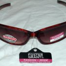 NWT FOSTER GRANT WOMEN'S FASHION  TORTOISE STYLE SUNGLASSES 100% PROTECTION!!!