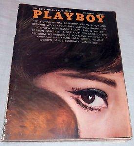 Playboy Magazine October 1964 Cassius Clay MUHAMMAD ALI / Rosemarie Hillcrest