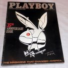 3 PLAYBOY MAGAZINE ANNIVERSARY LOT, JANUARY 1986, 1987 AND 1989 VERY GOOD!!!