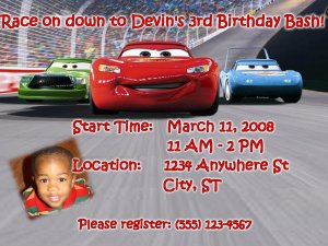 Racing Disney Cars