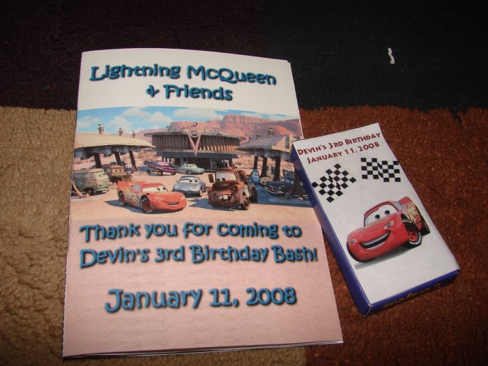 Personalized Cars Coloring Book with Crayons