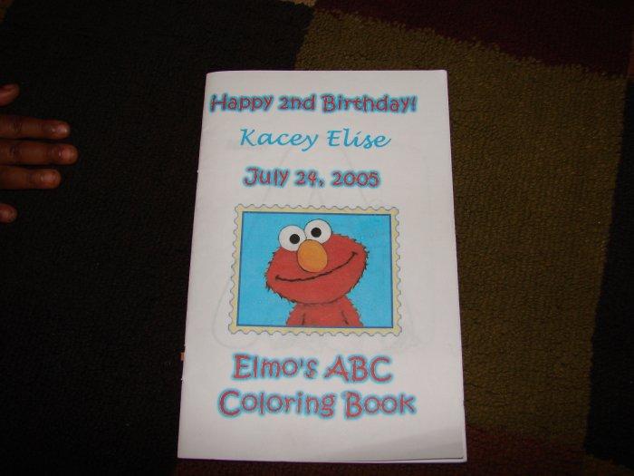 Elmo's ABC Coloring Book Party Favor