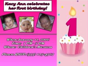 First Birthday Girls