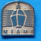 "ONE PARAGON STERLING SILVER ""MIAMI"" LAPEL PIN OR LARGE TIE TACK - 2 AVAILABLE"