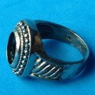STERLING SILVER UNISEX RING SETTING NO STONE - SIZE7.25 - GREAT STYLE!!