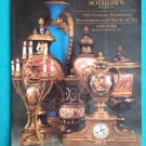 SOTHEBY'S MARCH 24, 1994 19th CENT FURNITURE DECORATIONS & WORKS OF ART