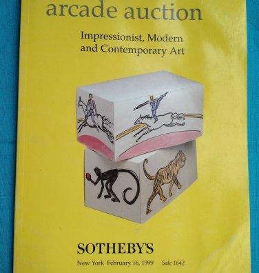 SOTHEBY'S FEB 16, 1999 IMPRESSIONIST MODERN & CONTEMPORARY ART. ARCADE AUCTION