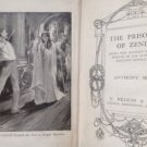 "ANTIQUE VINTAGE"" THE PRISONER OF ZENDA""  BOOK BY ANTHONY HOPE. GOOD CONDITION"