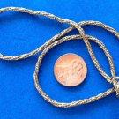 "Vendome choker necklace gold tone chain - 15"" long."