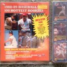 Score Baseball's Hottest Rookies pkg. 1988-9 Rising ST*RS 100 card set.