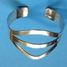 Sterling silver cuff bracelet 29.5g !