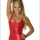 Red Corset Size 32 wrapped in Bouquet of Red Roses
