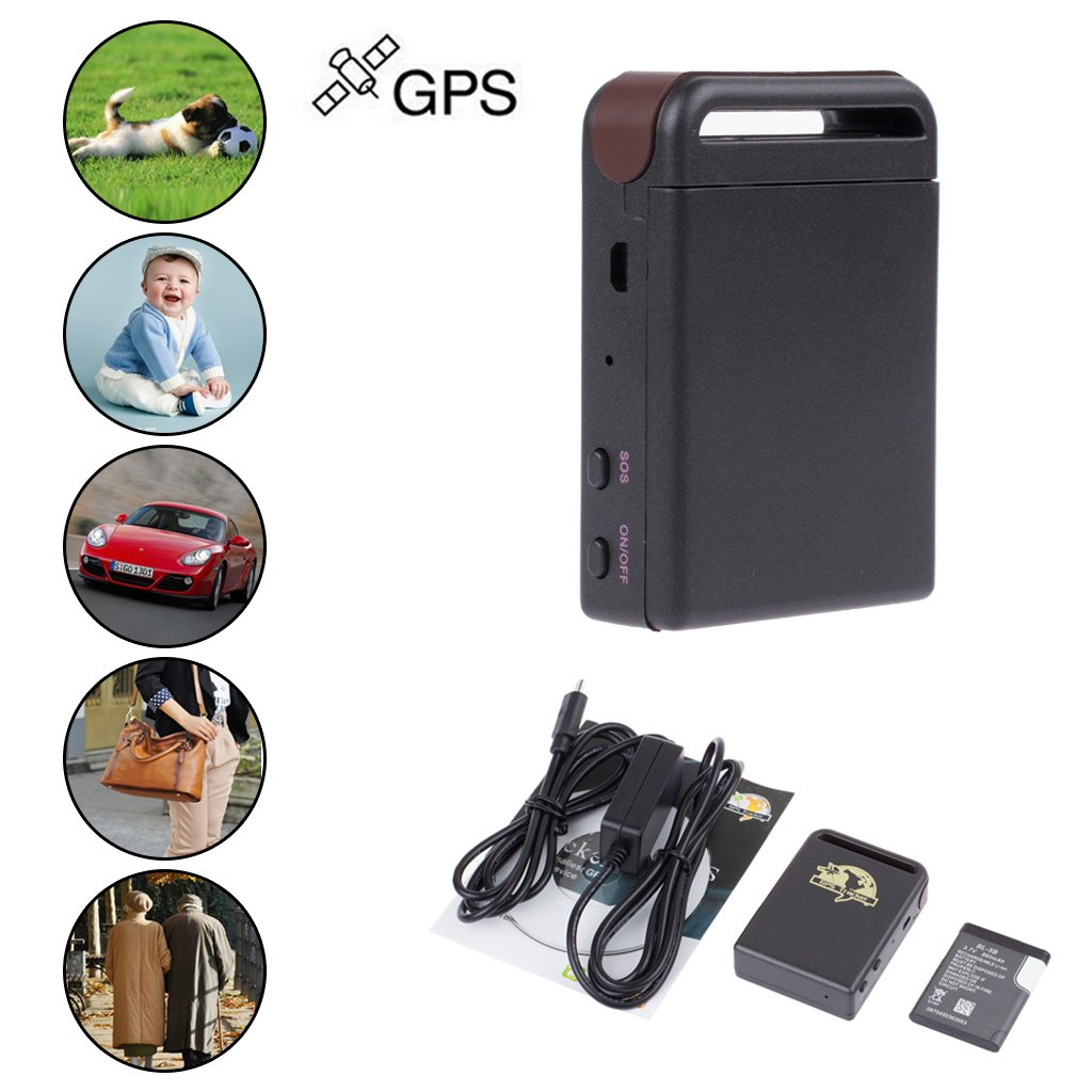 Mini SPY Vehicle GSM GPRS GPS Tracker Car Vehicle Tracking Locator Device