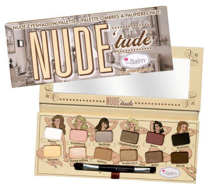 Nude Tude Long-Lasting Makeup Eye Shadow