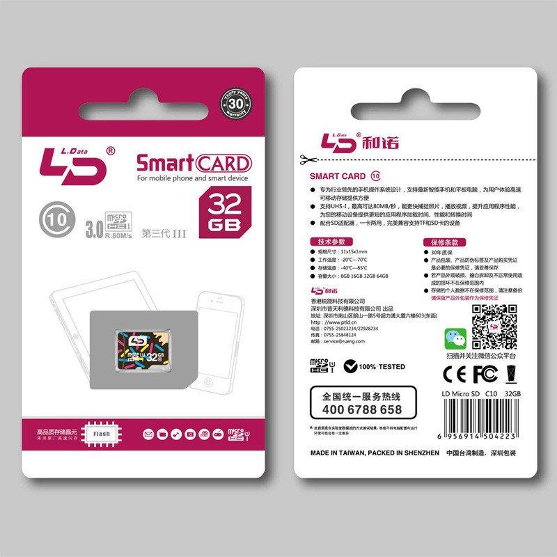 LD Smart Micro SD card memory card class 10  32gb