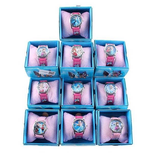 Elsa Anna Olaf Quartz Girl Wrist Watch frozen
