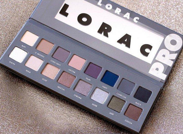 Lorac PRO 2 palette eyeshadow makeup