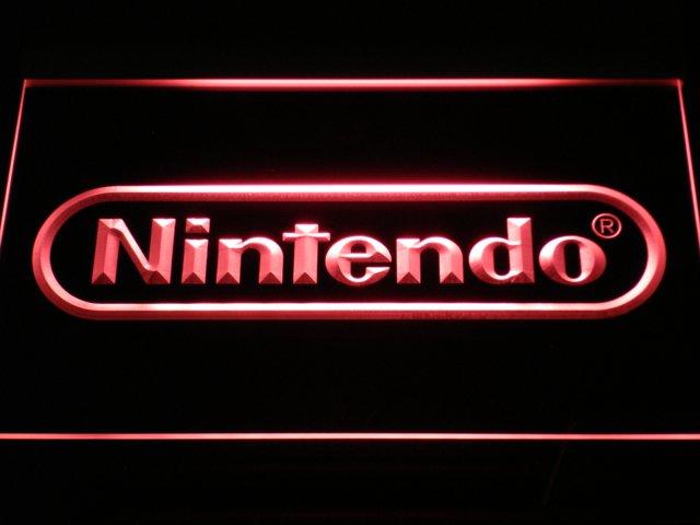 Nintendo Game Room Bar Beer LED Neon Sign