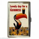 GUINNESS BEER LOVELY DAY FOR A GUINNESS Cigarette Money Case ID Holder or Wallet