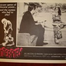 INTERPLAY Zee Wilson Original Lobby Card!