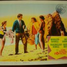 FIVE FINGER EXERCISE Rosalind Russell Jack Hawkins Original Lobby Card!
