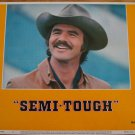 SEMI-TOUGH Burt Reynolds Kris Kristofferson Original Lobby Card! #2