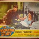 THE SHANGHAI STORY Ruth Roman Original Lobby Card!