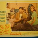 THE GIFT OF LOVE Lauren Bacall Robert Stack Original Lobby Card! #4