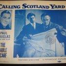 CALLING SCOTLAND YARD The Sable Scarf Paul Douglas Original Lobby Card 4