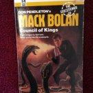EXECUTIONER #79 COUNCIL OF KINGS Don Pendleton Mack Bolan Vintage 1985 Paperback