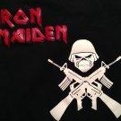 VINTAGE IRON MAIDEN EDDIE MACHINE GUNS Original M T-Shirt Cool!