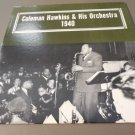 COLEMAN HAWKINS AND HIS ORCHESTRA 1940 LP NM Alamac