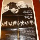 TRIBUTE Jack Lemmon Robby Benson Original MOVIE POSTER