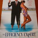THE EFFICIENCY EXPERT Anthony Hopkins Russell Crowe Original Movie Poster! COOL!