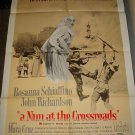 A NUN AT THE CROSSROADS Rosanna Schiaffino John Richardson Original Movie Poster