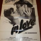 STRANGERS IN LOVE Kelly Nichols Jerry Butler Org Poster