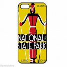 U.S. NATIONAL STATE PARKS SKIING Apple Iphone Case 4/4s 5/5s 5c 6 or 6 Plus PICK