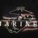 UNITED STATES MARINE CORPS MARINES American By Birth Marine By Choice XL T-Shirt