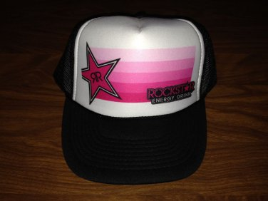 ROCKSTAR ENERGY DRINK COOL NEW Vintage Trucker Adjustable Hat